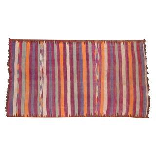 "Vintage Moroccan Kilim Carpet - 5'5"" X 9'5"""