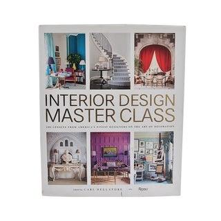 """""""Interior Design Master Class..."""" Hard Cover Book by Carl Dellatore For Sale"""