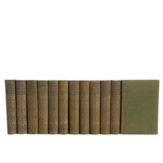 Parkman's Antique History of North America Book Set, S/12 For Sale