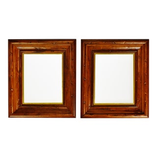 Vintage Wood Picture Frames - a Pair For Sale