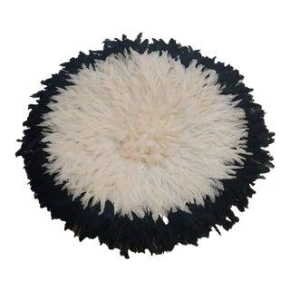 Black & Ivory Juju Hat For Sale
