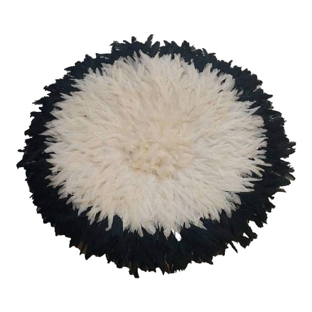 Black & Ivory Juju Hat - Image 1 of 3