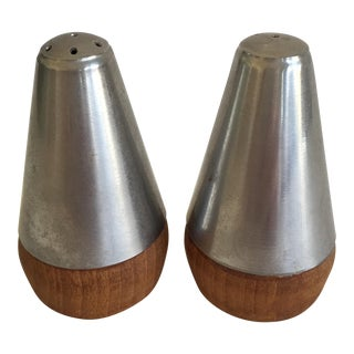 Danish Modern Salt & Pepper Shakers