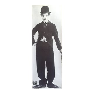 "Charlie Chaplin "" Charlot "" Rare Vintage 1983 Collector's Large Iconic 1925 Photo French Poster For Sale"