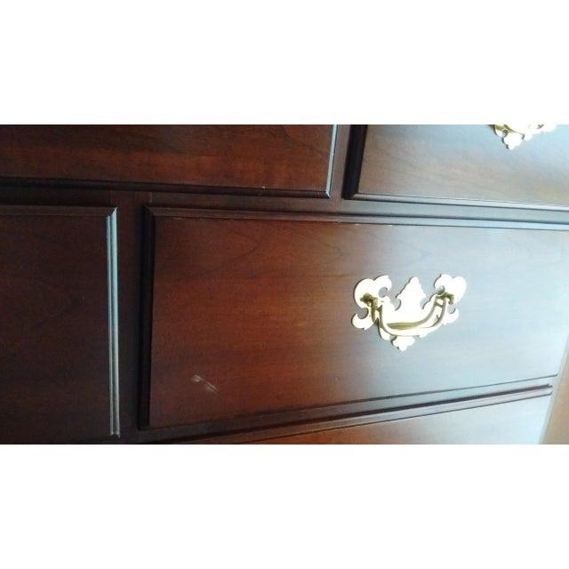 Gustavian 9-Dresser Tall Chest - Image 7 of 7