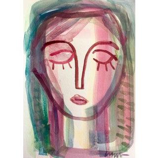 "Craig Greene ""I Belong to You"" Original Watercolor Painting For Sale"