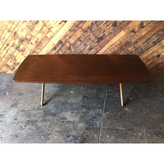 Mid-Century Danish Coffee Table by Ole Wanscher - Image 2 of 10