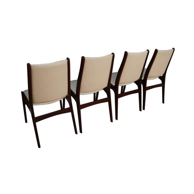 Animal Skin Anderstrup Mobelfabrik Uldum Rosewood Mid Century Danish Dining Chairs For Sale - Image 7 of 12