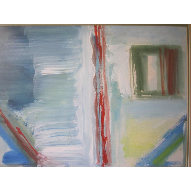 Abstract Abstract Painting, Signed Davidoff For Sale - Image 3 of 6