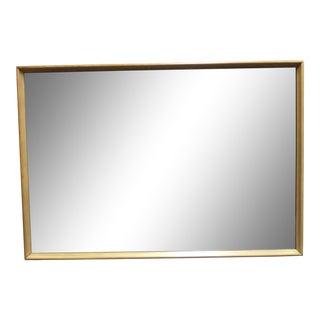 Heywood Wakefield Mid Century Modern Maple Wall Mirror For Sale