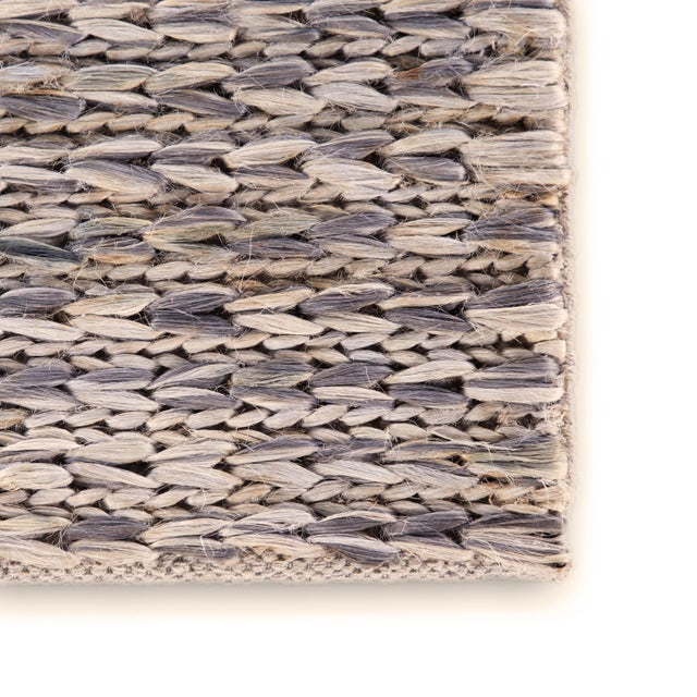 Contemporary Jaipur Living Calista Natural Blue/ Light Gray Area Rug - 9′ × 12′ For Sale - Image 3 of 6