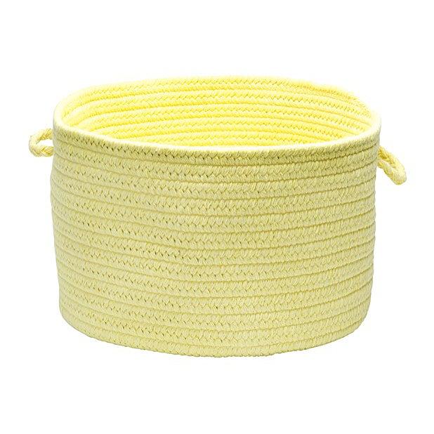 "Bristol Yellow 14""x10"" Utility Basket - Image 3 of 3"