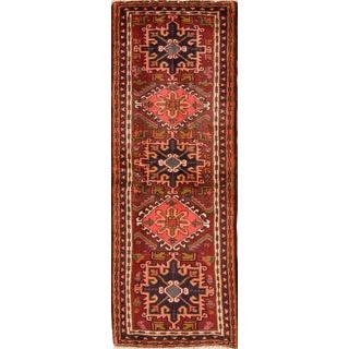 "Vintage Persian Karaja Rug, 2'3"" X 6'7"""