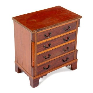 18th Century George III Style Mahogany Chest of Drawers Preview