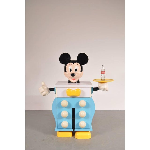 Mickey Mouse Cabinet by Pierre Colleu for Starform, France, circa 1980 - Image 2 of 9
