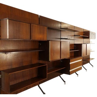 Urio Wall Unit by Ico Parisi for Mim Roma, 1960s Italy For Sale