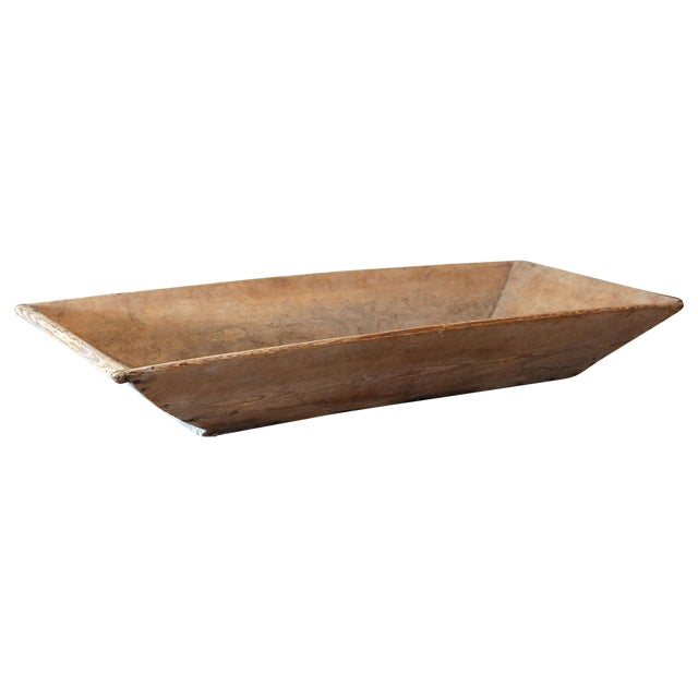 19th Century Large Swedish Trencher Bowl For Sale