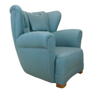 Danish Flemming Lassen/Mogens Lassen Style Easy Chair For Sale