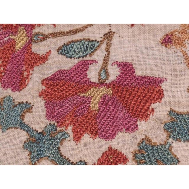Silk Antique Suzani For Sale - Image 7 of 8