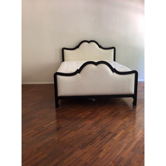 Beautiful bed frame from Baker Furniture to fit a queen size bed. The frame is from Baker's Country French collection...