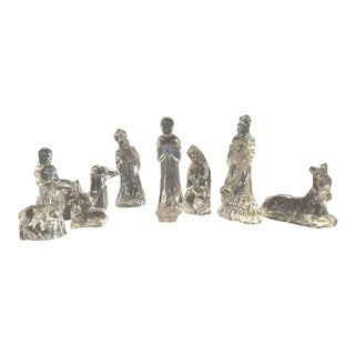 Waterford Crystal Nativity Figurines - Set of 11
