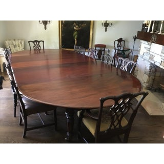 19th Century Tropical Wood Dining Table With Leaves Preview