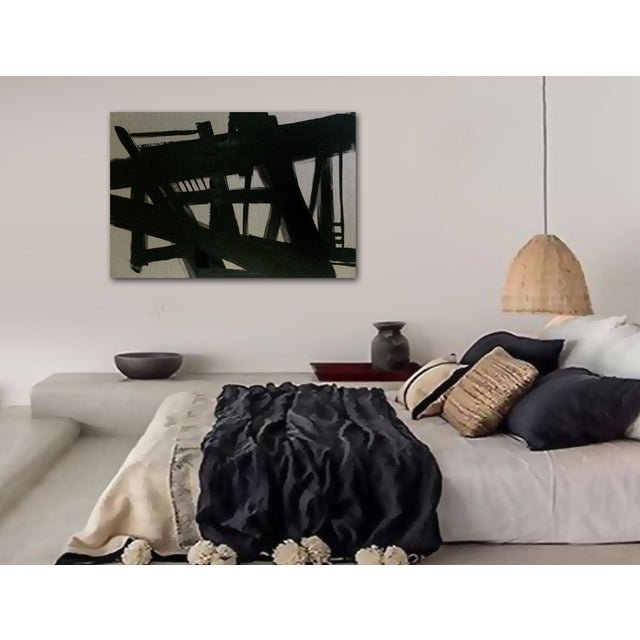 'TRESTLES' original abstract painting by Linnea Heide - Image 8 of 8