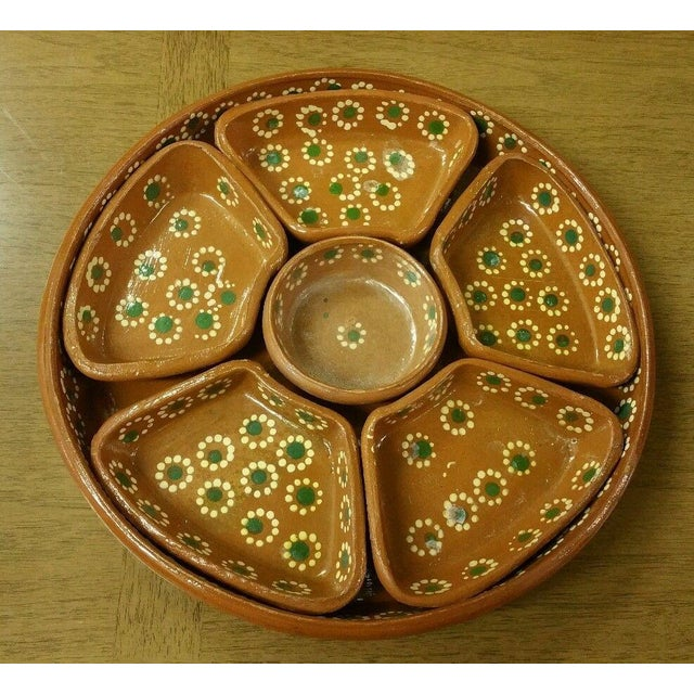 Tlaquepaque Mexican Chip and Dip Serving Tray - Image 2 of 4