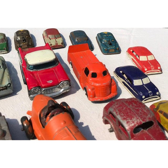 1950s Vintage Toy Cars - 28 Pieces For Sale In New York - Image 6 of 12