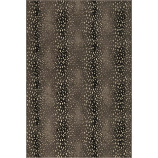 "Stark Studio Rugs Deerfield Silver Rug - 5'3"" X 7'10"" For Sale"