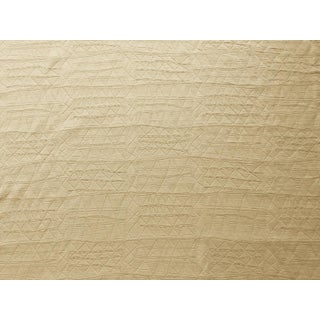 "Donghia ""Krazy Quilt- Cornmeal"" Fabric For Sale"