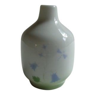 Vintage Scottish Highbank Lochgilphead Dragonfly Vase For Sale