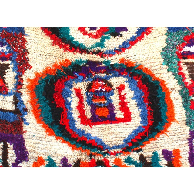 "Vintage Ourika Moroccan Berber Rug - 4'6"" X 8'9"" - Image 2 of 5"