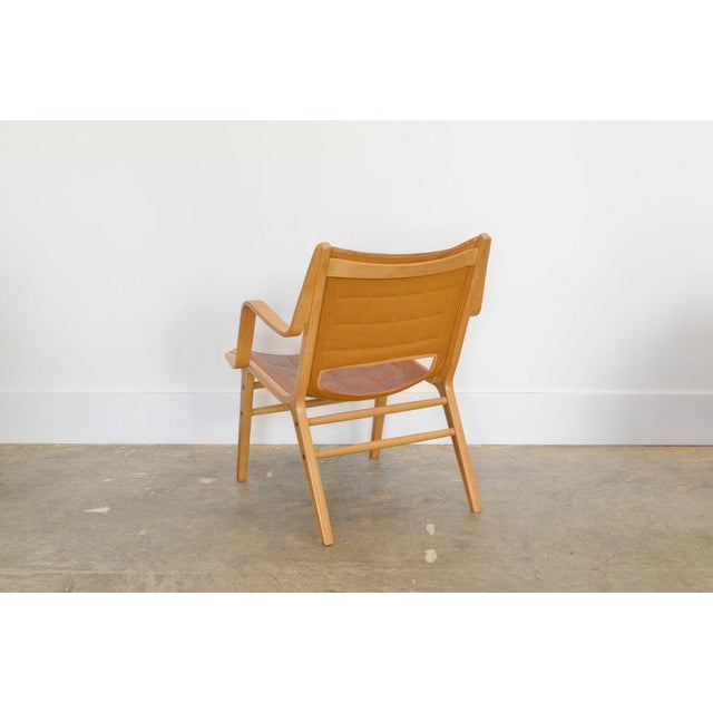 Mid-Century Modern Ax Lounge Chair by Peter Hvidt & Orly Mølgaard-Nielsen, 1947 For Sale - Image 3 of 8