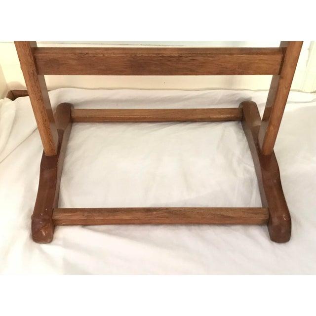 Vintage Wooden Valet - Image 3 of 4