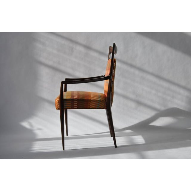 Set of Six Erno Fabry Dining Chair - Image 4 of 10