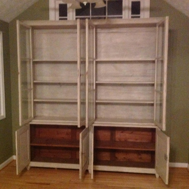 Gustavian Book Case Cabinet - Image 7 of 7