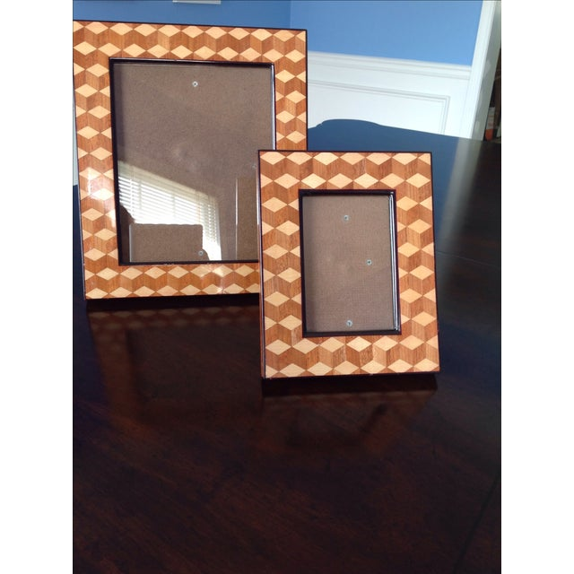Williams Sonoma Home, Tray & Photo Frames - 3 - Image 9 of 10
