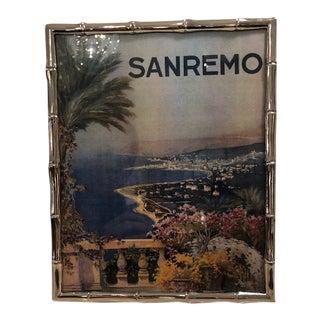 Silverplate Sanremo Frame For Sale