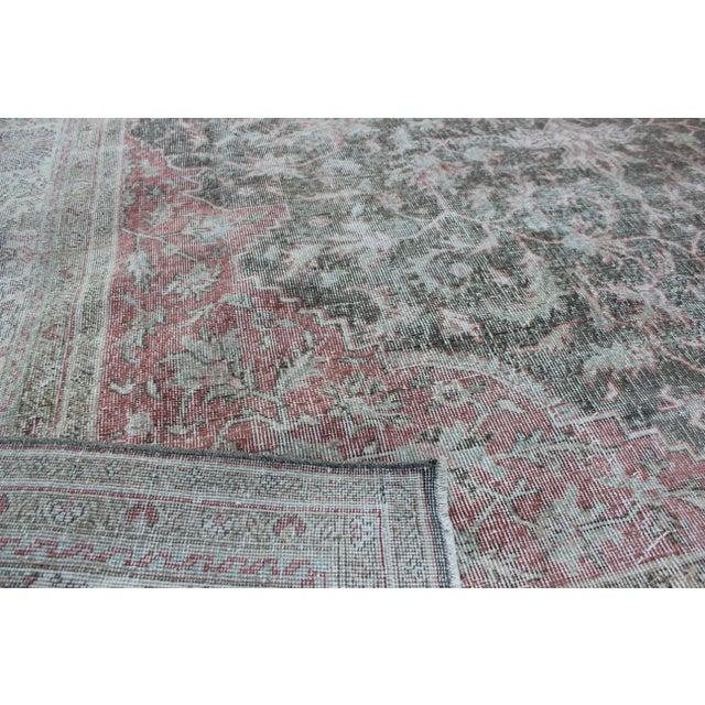 Vintage Sivas Turkish Wool Rug - 8 X 13 For Sale - Image 4 of 8