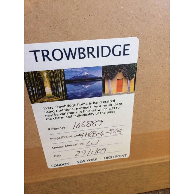 Gray Asian Framed Prints From Trowbridge - a Pair For Sale - Image 8 of 9
