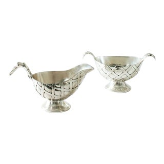 Pineapple Cream Pitcher and Sugar Bowl Set