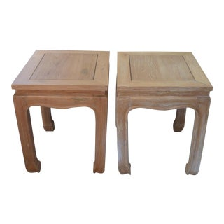 Chinese Side Tables - A Pair