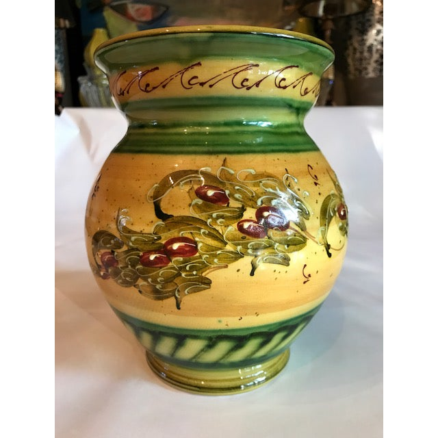 Rustic French Signed & Handmade Vase - Image 2 of 6