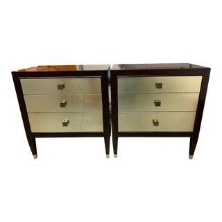Bernhardt Aurelia 3-Drawer Nightstands - a Pair For Sale