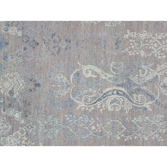 "Pasargad Transitiona Silk & Wool Rug- 8'11"" x 12' - Image 2 of 4"