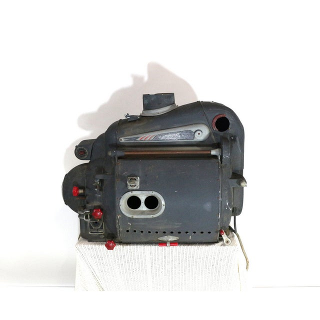 A fantastic Art Deco movie projector lamp from the 1930s. An Ashcraft Suprex projection lamp with Art Deco decorative...