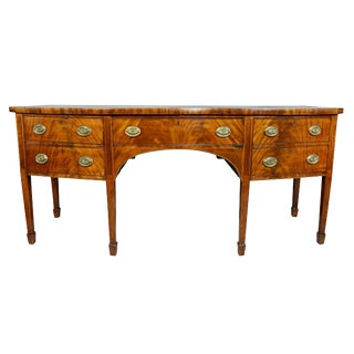 Large George III Mahogany Sideboard For Sale