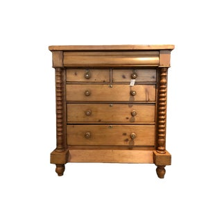 Antique Scottish Chest of Drawers For Sale