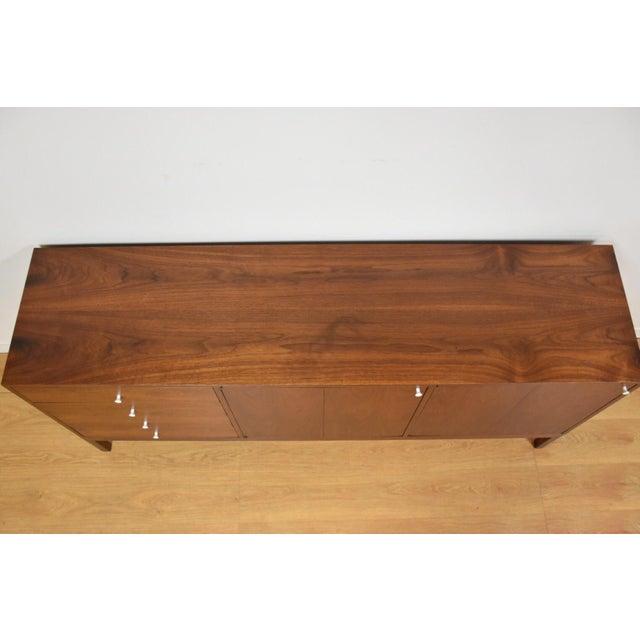 Mid Century Walnut 12 Drawer Dresser - Image 7 of 11